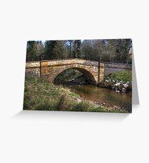 Hawnby Bridge - North Yorkshire Greeting Card