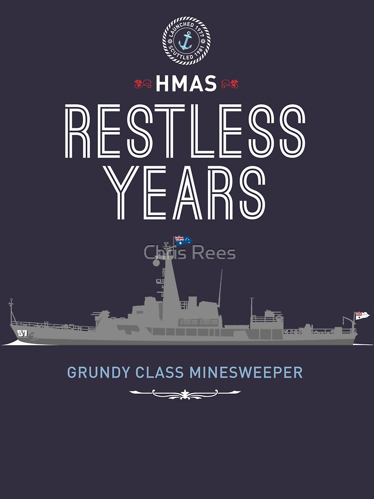 HMAS Restless Years by 4boat