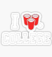 College Sticker