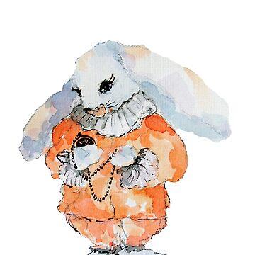 Rabbit in Wonderland by Kuhtina
