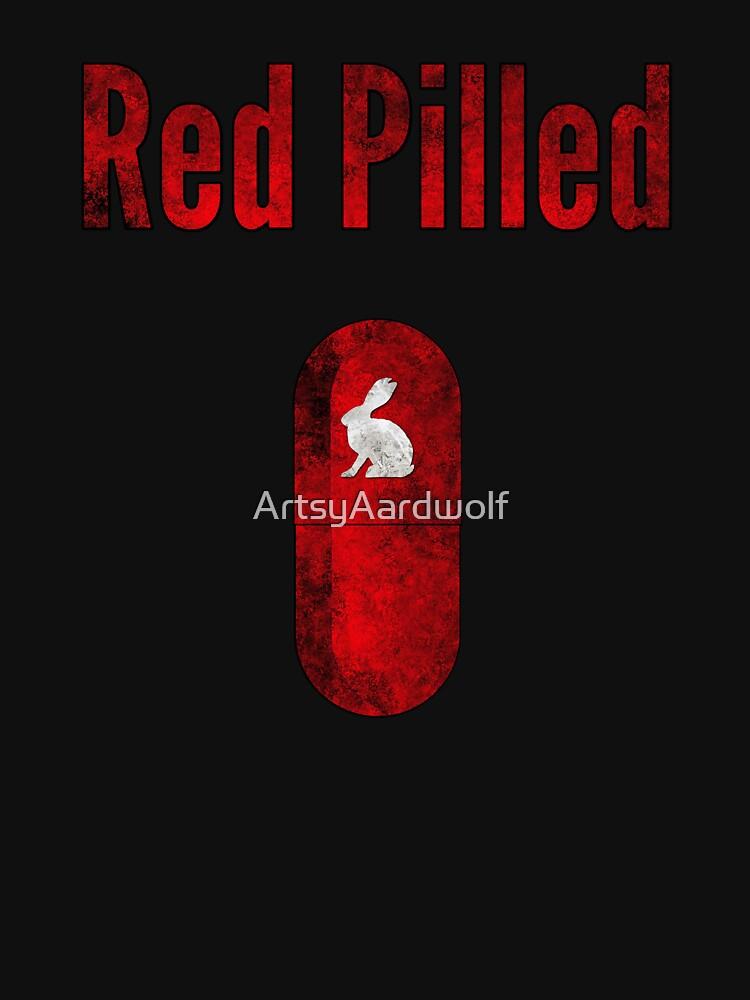 Team Qanon Q+ Red Pilled by ArtsyAardwolf