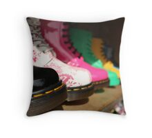 These Boots are made for Walkin' Throw Pillow