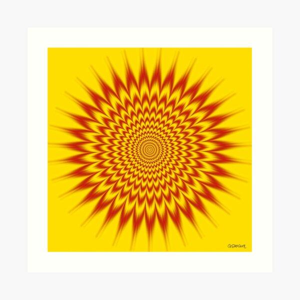HYPNOTIC VIBES Art Print