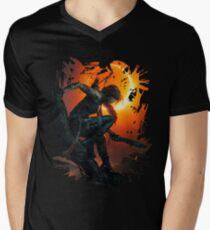 Lara's Shadow Men's V-Neck T-Shirt
