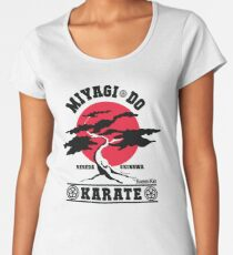 Karate Kid - Mr Miyagi Do Red Variant Women's Premium T-Shirt