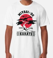 Karate Kid - Herr Miyagi Do Red Variant Longshirt