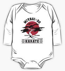 Karate Kid - Herr Miyagi Do Red Variant Baby Body Langarm