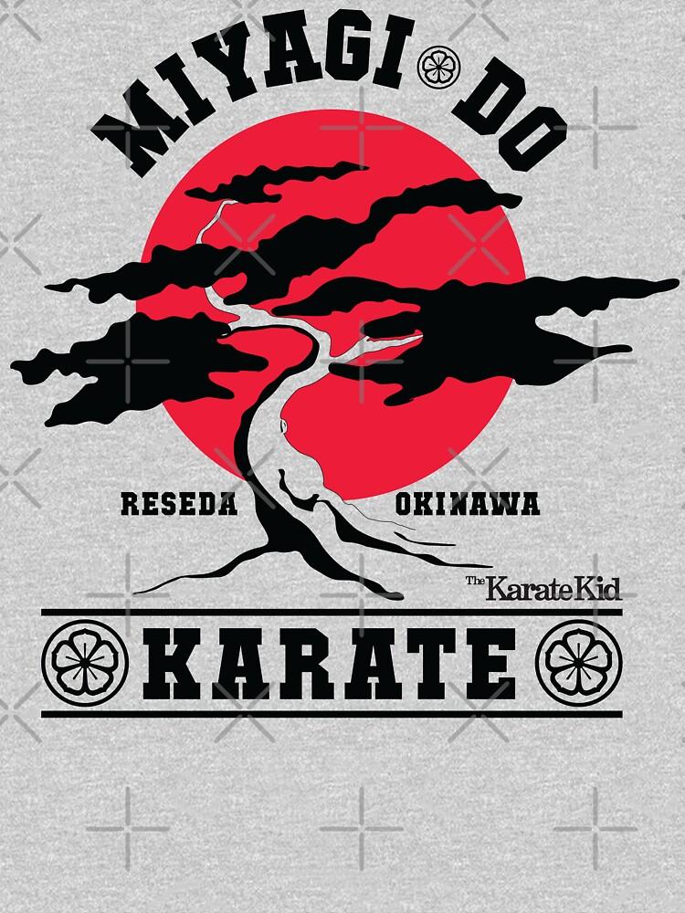 Karate Kid - Mr Miyagi Do Red Variant by Purakushi