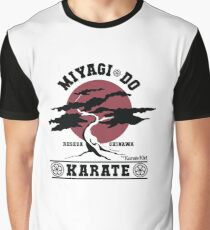 Karate Kid - Miyagi Do Grafik T-Shirt