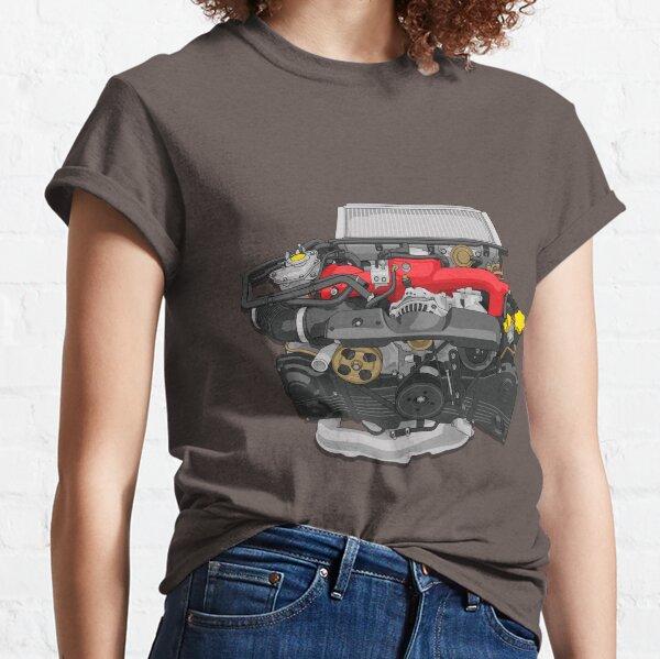EJ20 Engine sticker Classic T-Shirt
