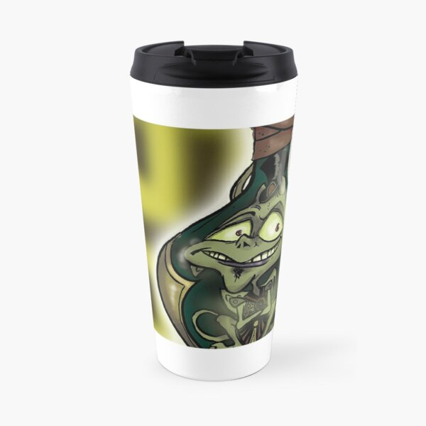 Official Bottled Imp Mug - Grocklesnook Celtic Knot Travel Mug