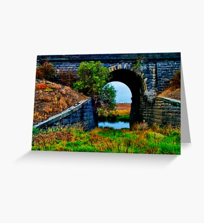 """""""The Viaduct"""" Greeting Card"""