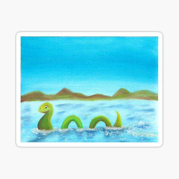 The Loch Ness Monster Sticker