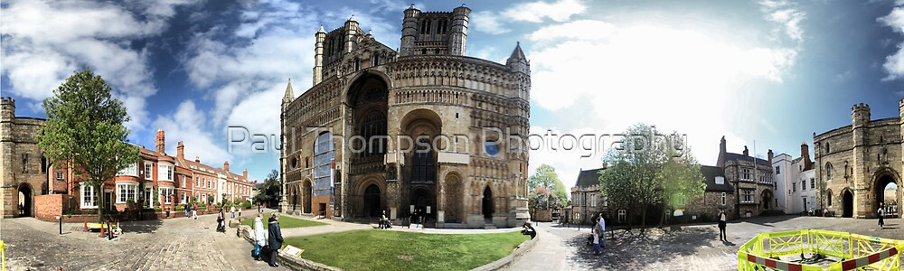 Lincoln Cathedral Panoramic by Paul Thompson Photography