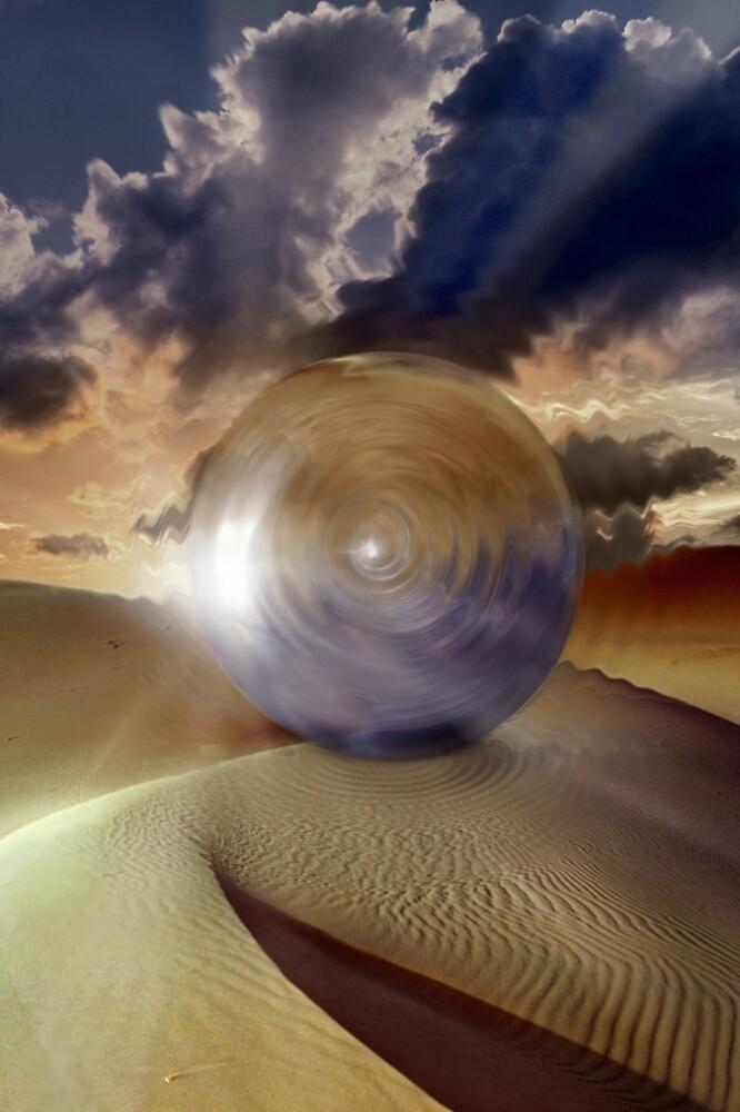 Dimension Bubble by Cliff Vestergaard
