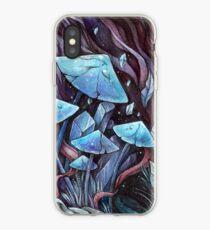 Mushrooms & Crystals iPhone Case