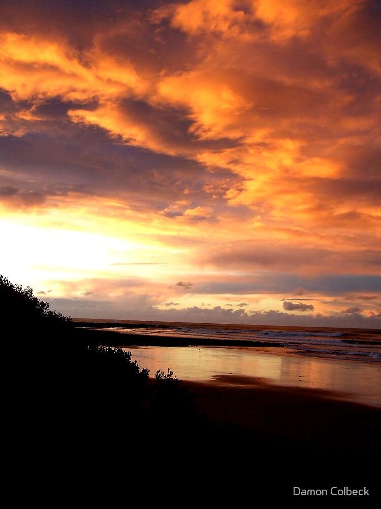 Sunset Beach by Damon Colbeck
