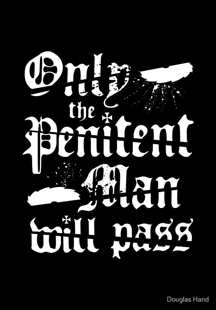 Penitent Man by Douglas Hand