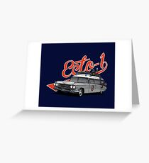 ECTO-1 - GHOSTBUSTERS Greeting Card