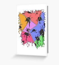 Bright spots Greeting Card