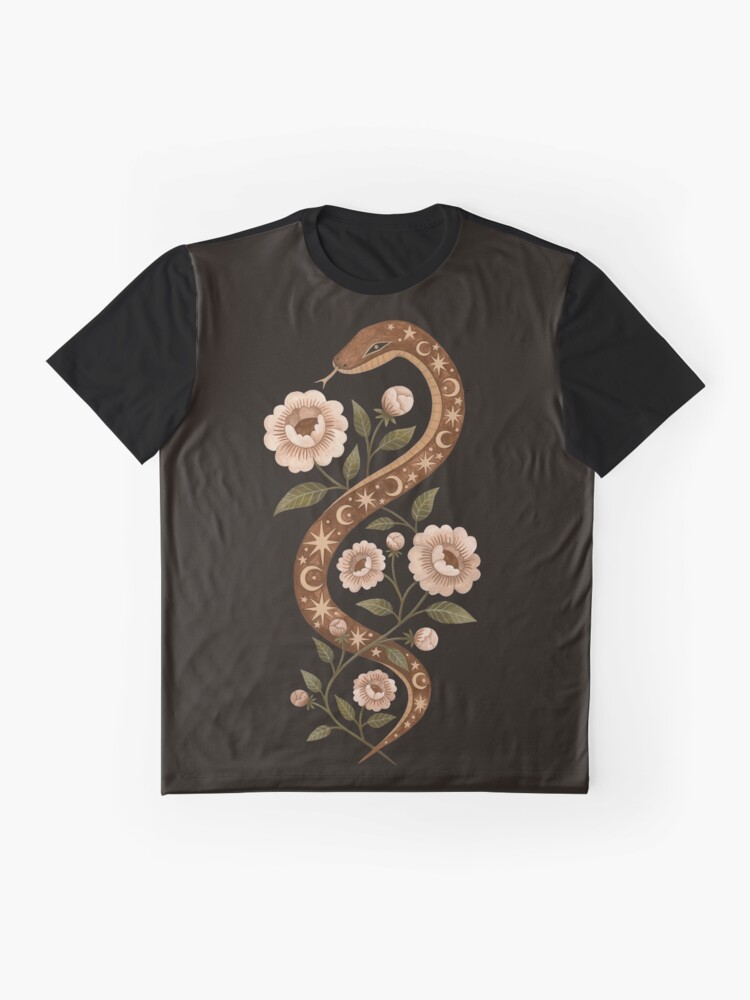 Alternate view of Serpent spells Graphic T-Shirt