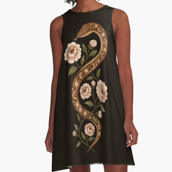 Serpent spells A-Line Dress