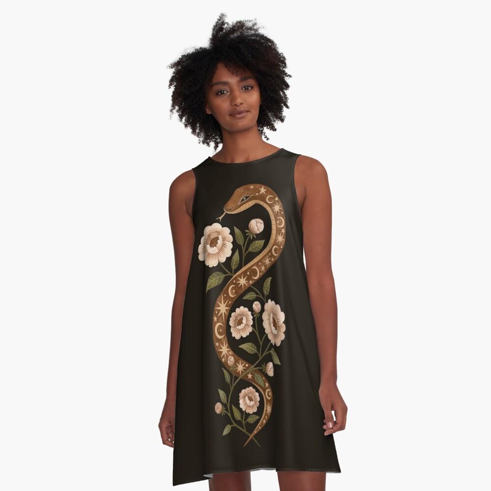 Serpent spells A-Line Dress