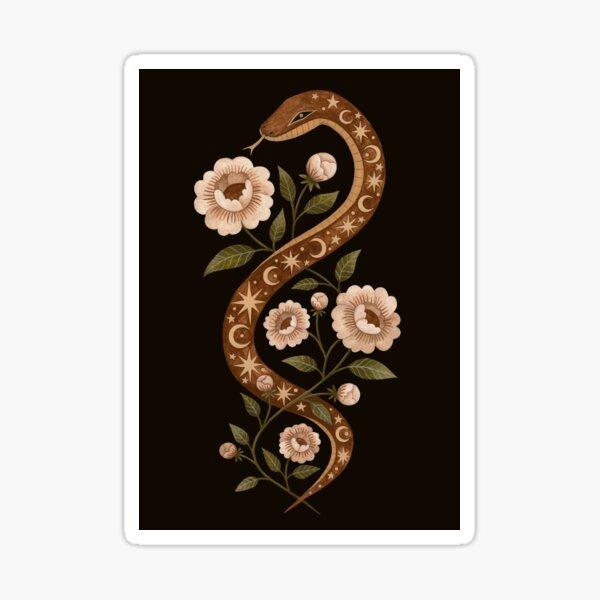 Serpent spells Sticker