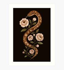 Lámina artística Hechizos de serpiente
