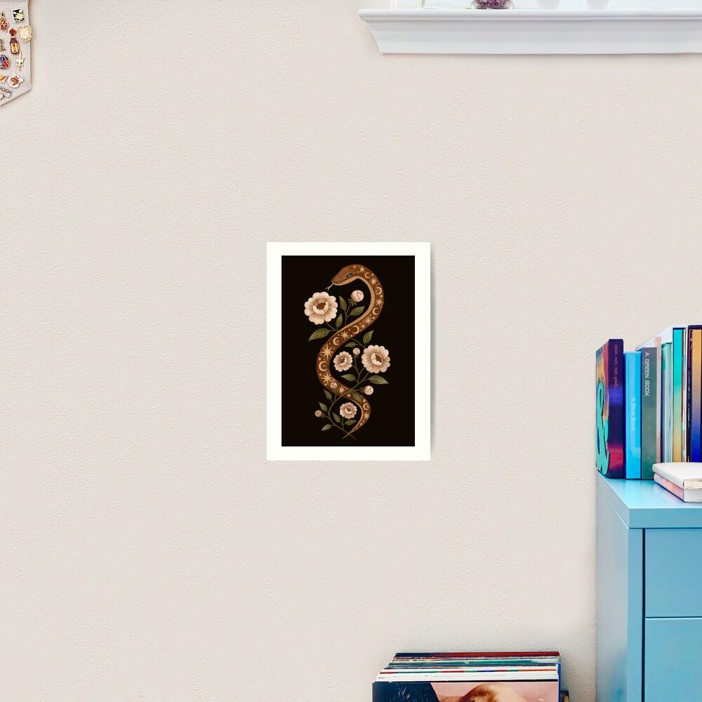 Serpent spells Art Print