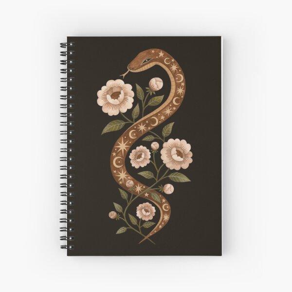 Serpent spells Spiral Notebook