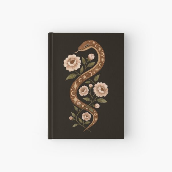 Serpent spells Hardcover Journal