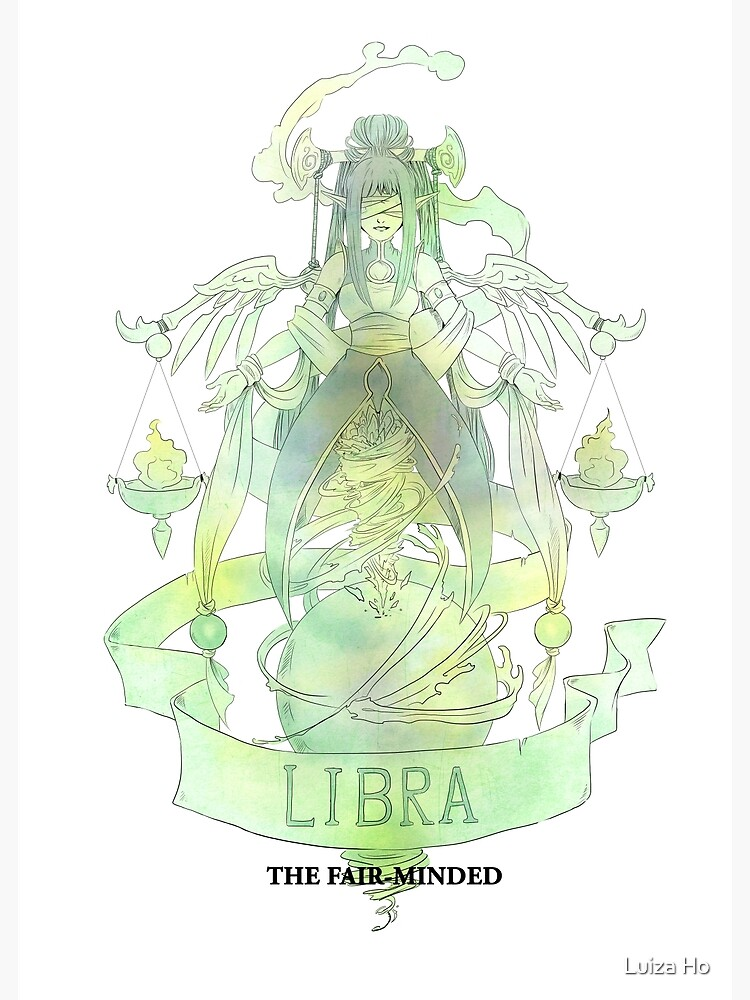 Libra, The Fair-minded by teapotsandhats