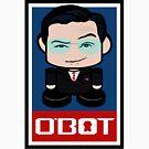 Colbot Politico'bot Toy Robot 2.0 by Carbon-Fibre Media