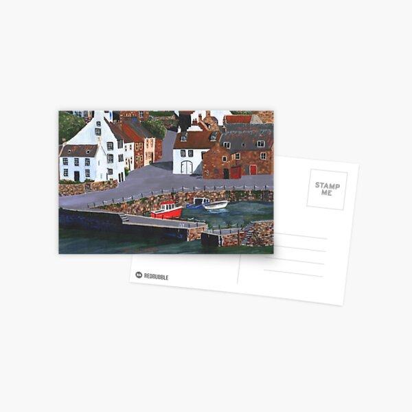 Crail Harbour 5 Postcard