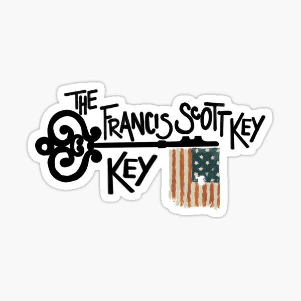 The West Wing Francis Scott Key Key Sticker