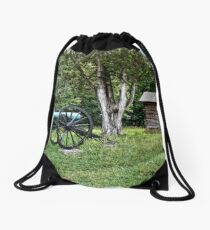 Snodgrass House - Chickamauga National Military Park  Drawstring Bag