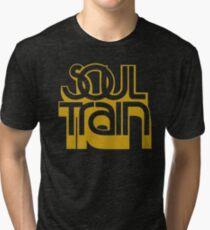 SOUL TRAIN (YELLOW) Tri-blend T-Shirt