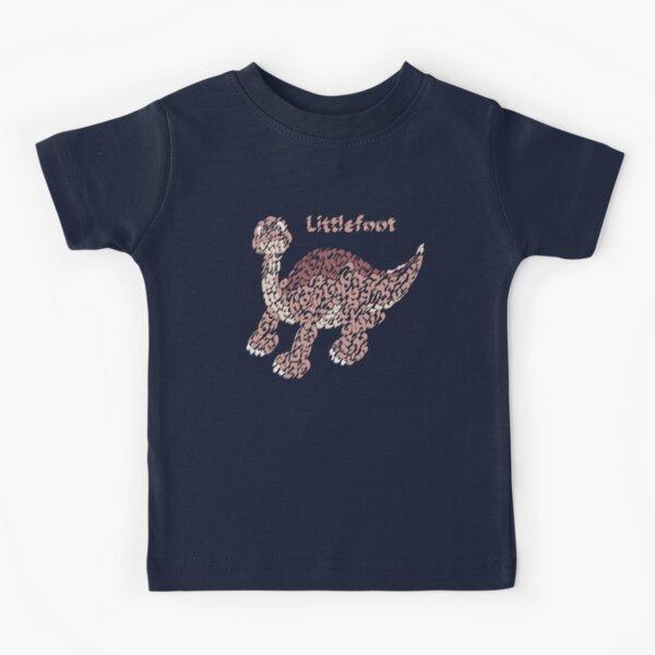 """""""Littlefoot"""" the Little Dinosaur  Kids T-Shirt"""
