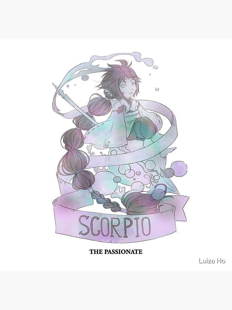Scorpio, The Passionate by teapotsandhats