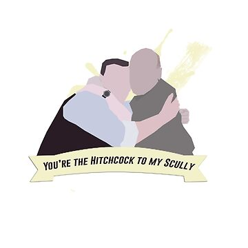 hitchcock/scully. by glitteredgold