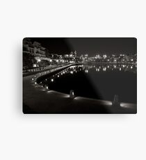 Canal's in Perth Metal Print