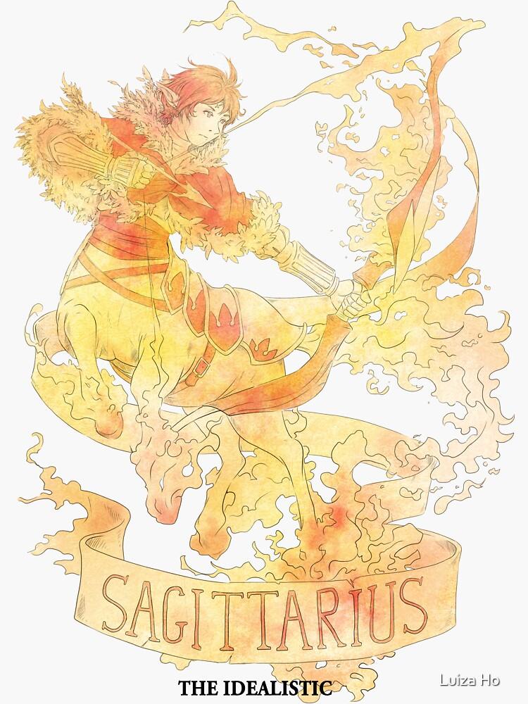 Sagittarius, The Idealistic by teapotsandhats