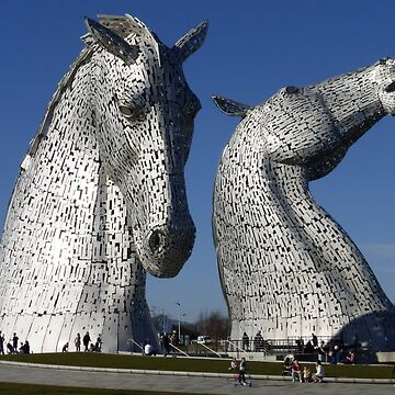 The Kelpies- Falkirk, Scotland by mikequigley