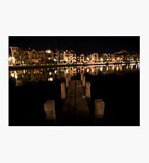The Wharf Photographic Print