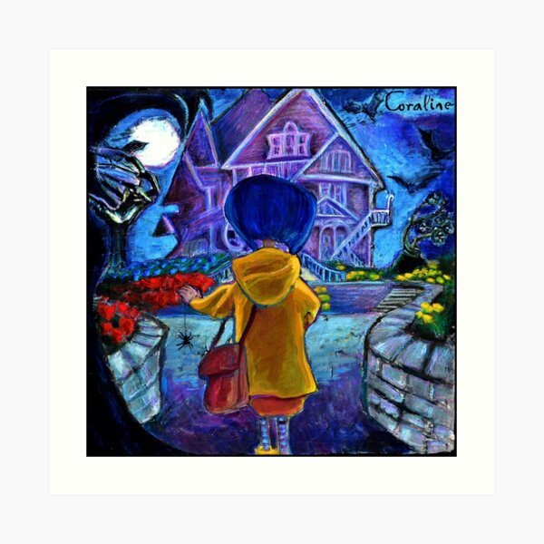 Coraline Art Prints Redbubble