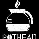 Pothead WHT by GoodPotGoodLife