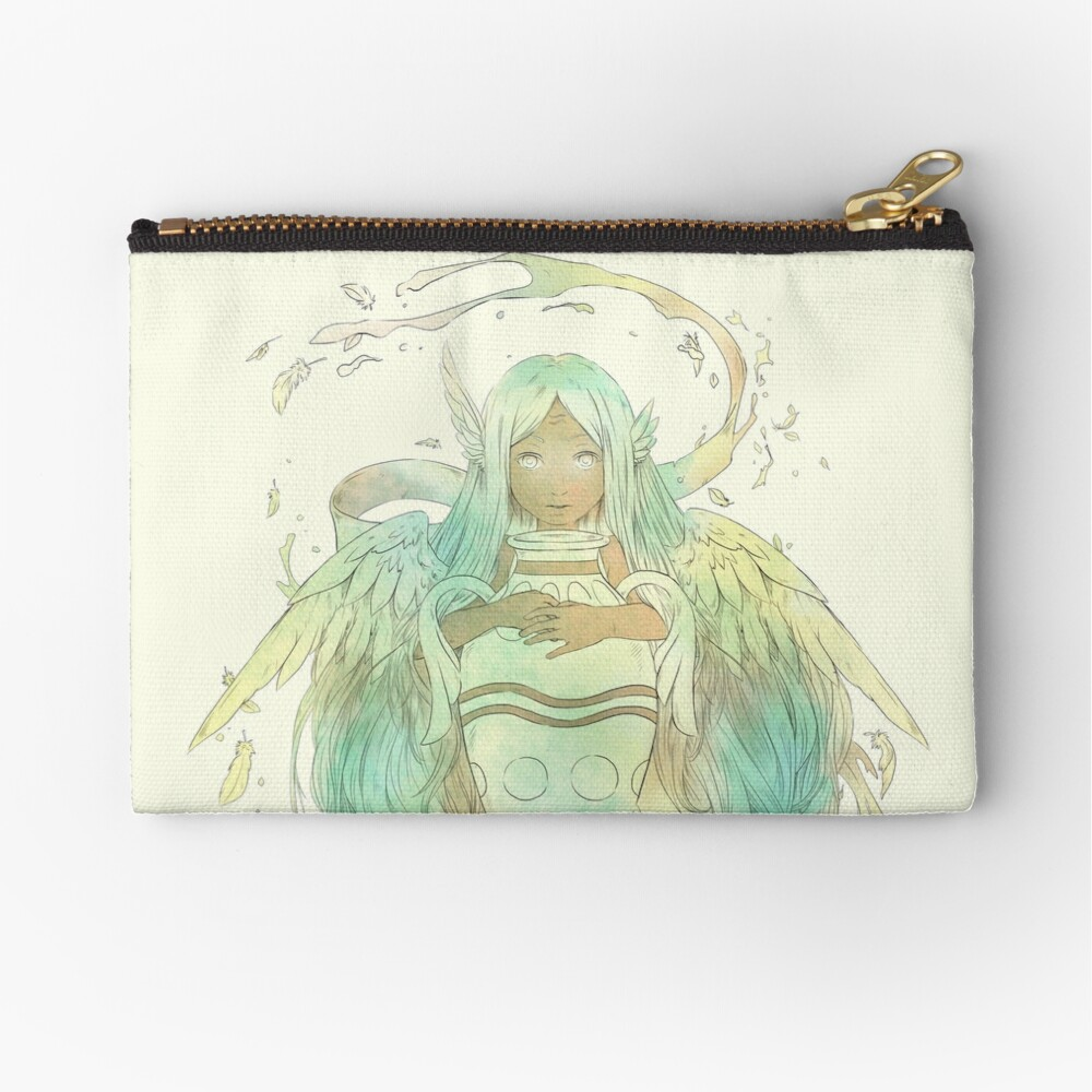 Aquarius, The Independent Zipper Pouch