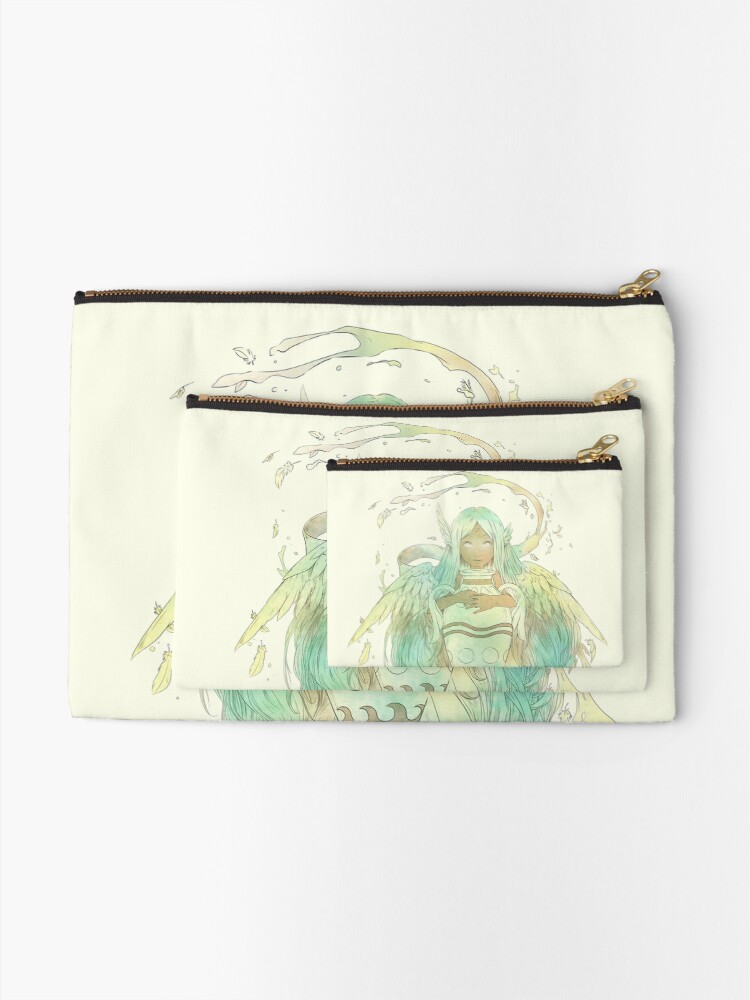 Alternate view of Aquarius, The Independent Zipper Pouch