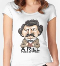 A Riel Piece of Work Women's Fitted Scoop T-Shirt